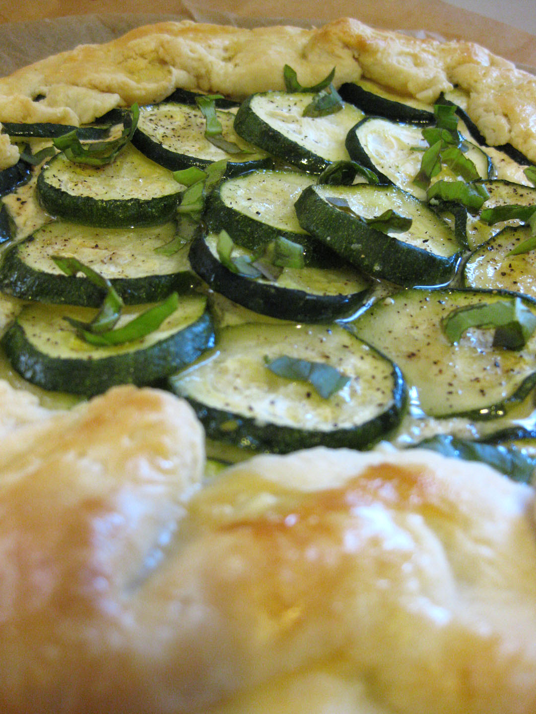 Zucchini Ricotta Galette Sweet Jumbles