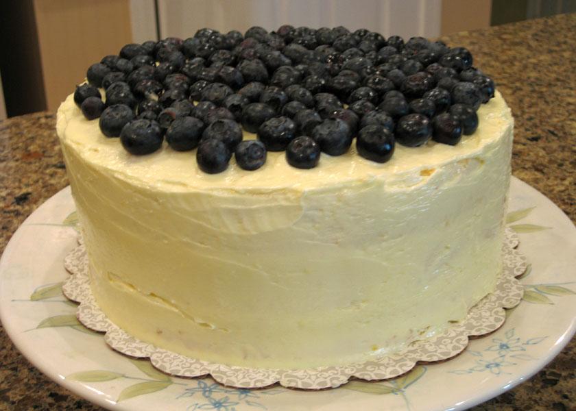 Lick The Bowl Good Lemon Blueberry Cake