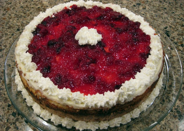Cranberry Cheesecake(1)