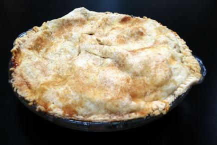 Apple Cranberry Pie 3