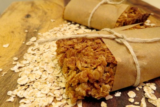 Cinnamon Oat Granola Bar (4)