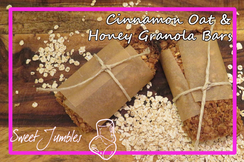 Cinnamon Oat Granola Bar (pin)