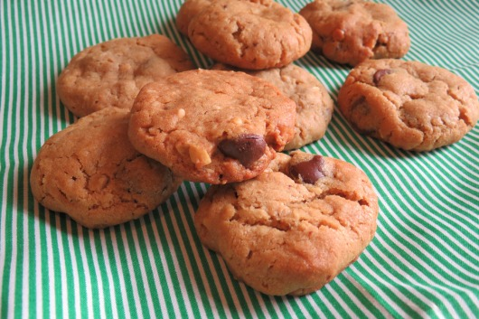 Peanut Butter-Pretzel-Chocolate Chip Cookies(2)