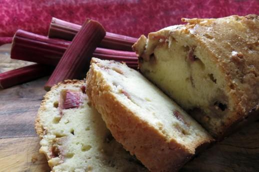 Rhubarb Pound Cake(2)