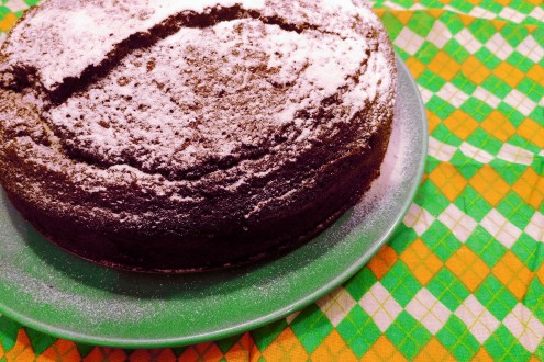Chocolate Whiskey Cake 2