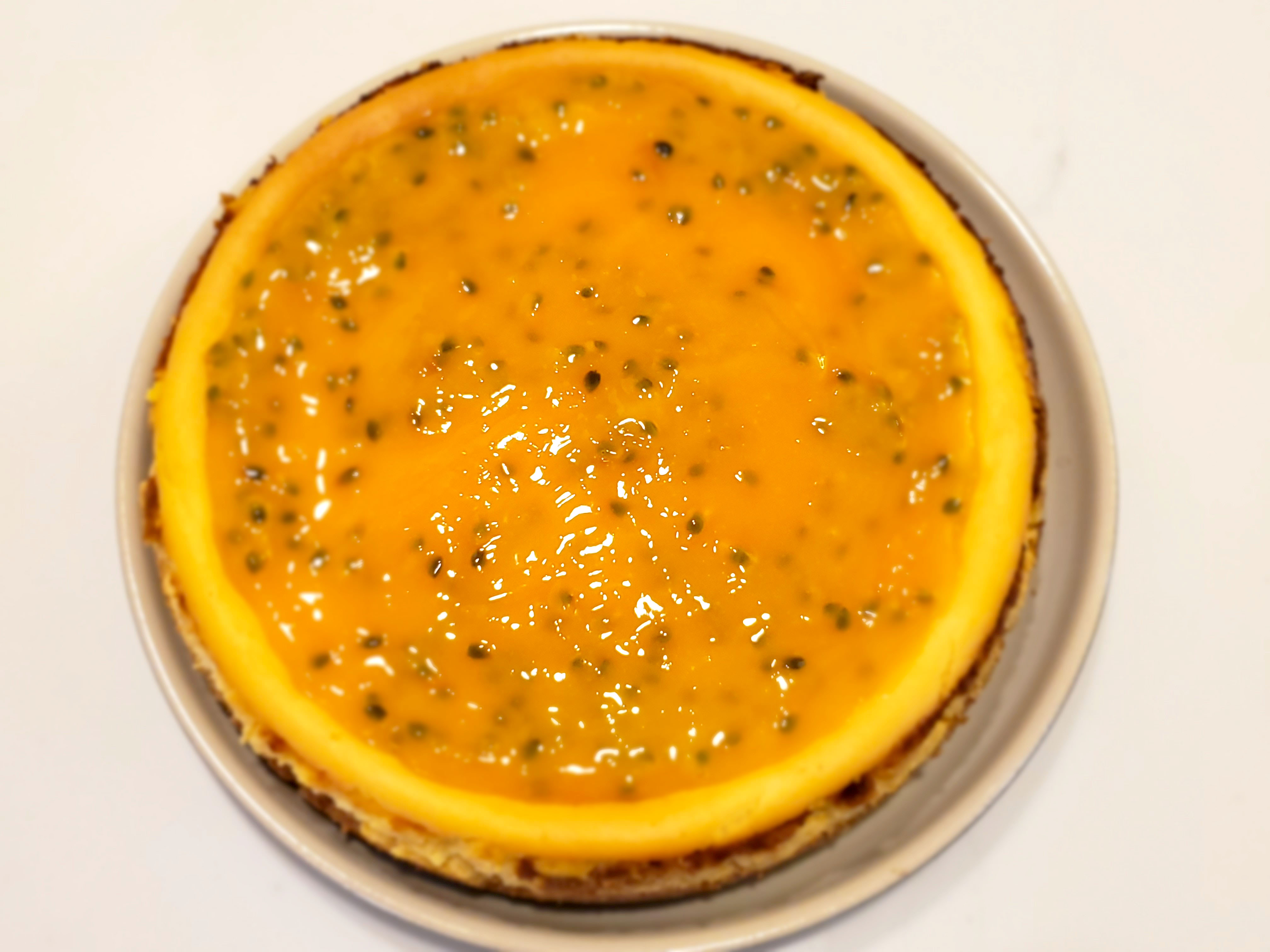 Passion Fruit Cheesecake (2)
